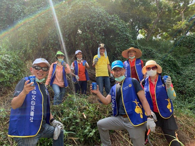 地球清潔日〝臺中市入侵植物防治計畫活動〞