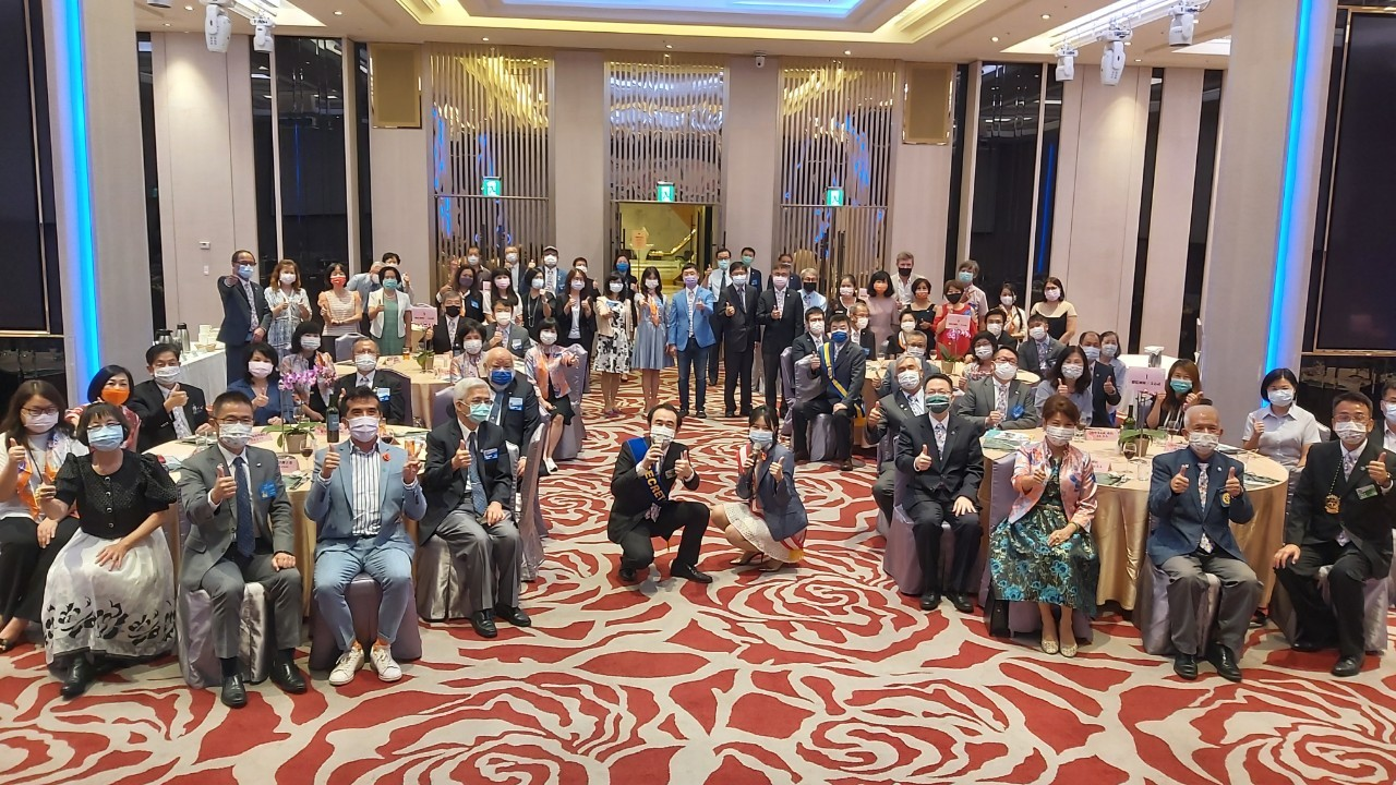 3461地區總監薛秋雄Trading伉儷暨團隊蒞臨公式訪問